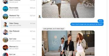 Facebook lança versão do Messenger para desktop