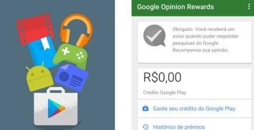 Google Opinion Rewards chega ao Brasil