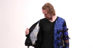 Você já conhece a jaqueta de sensações da Disney?