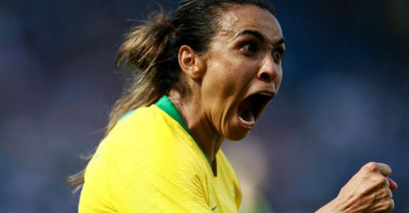 Marta: o outro lado visível do marketing esportivo