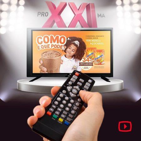 Campanha multitelas de Ovomaltine inova comunicação em TV Conectada