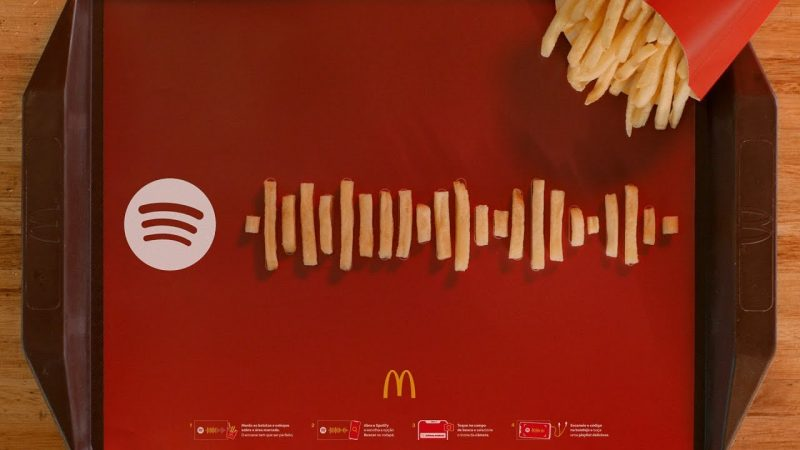 McDonald's prepara playlists no Spotify para McFritas