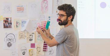 Projeto oferece formação em design para jovens de baixa renda